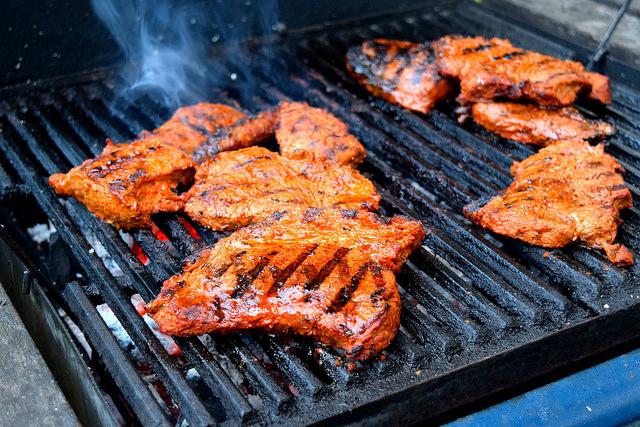 Barbecue Fajita Steak | www.rachelphipps.com @rachelphipps