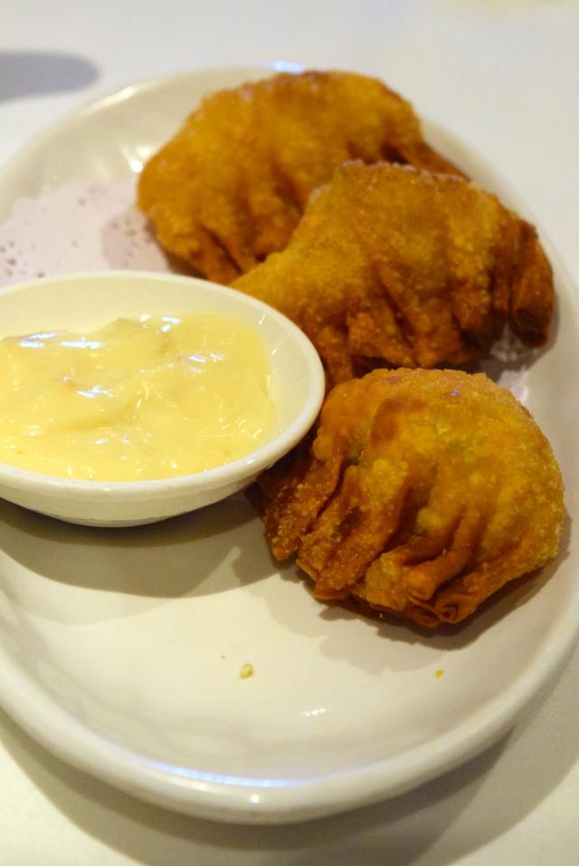 Fried Prawn Dumplings at Royal China, Baker Street | www.rachelphipps.com @rachelphipps
