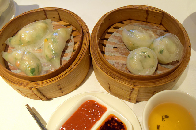 Steamed Dumplings at Royal China, Baker Street | www.rachelphipps.com @rachelphipps