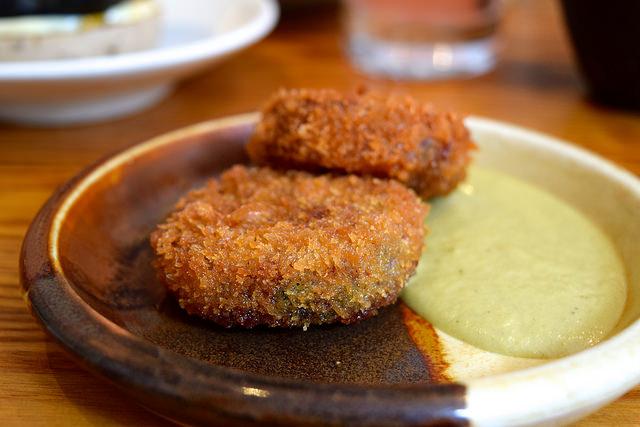 Beef Cheek & Tendon Nuggets at Bao, Fitzrovia | www.rachelphipps.com @rachelphipps