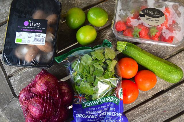 #OrganicUnboxed Fresh Produce | www.rachelphipps.com @rachelphipps