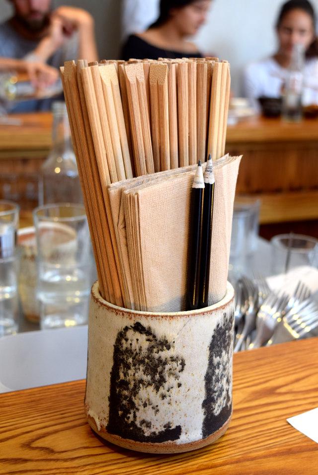 Chopsticks at Bao, Fitzrovia | www.rachelphipps.com @rachelphipps
