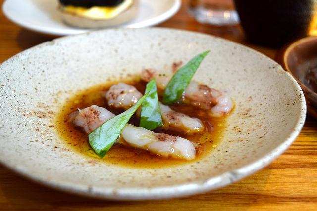 Raw Langoustines at Bao, Fitzrovia | www.rachelphipps.com @rachelphipps