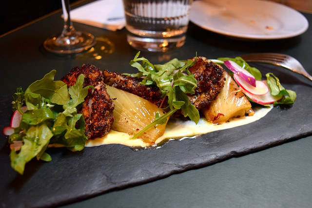 Chicken Thighs at Za'atar and Sumac at The Palomar, Soho | www.rachelphipps.com @rachelphipps