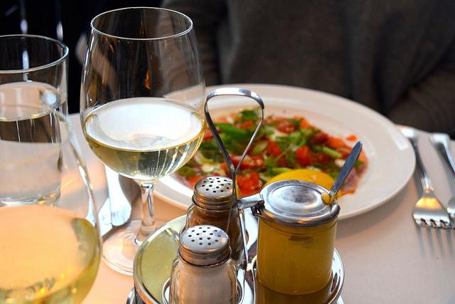 Lunch at Cafe Monico, Soho   www.rachelphipps.com @rachelphipps