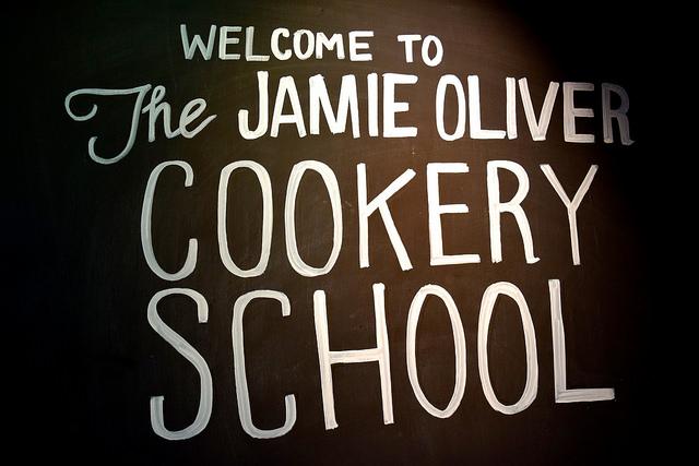 Welcome to the Jamie Oliver Cookery School | www.rachelphipps.com @rachelphipps