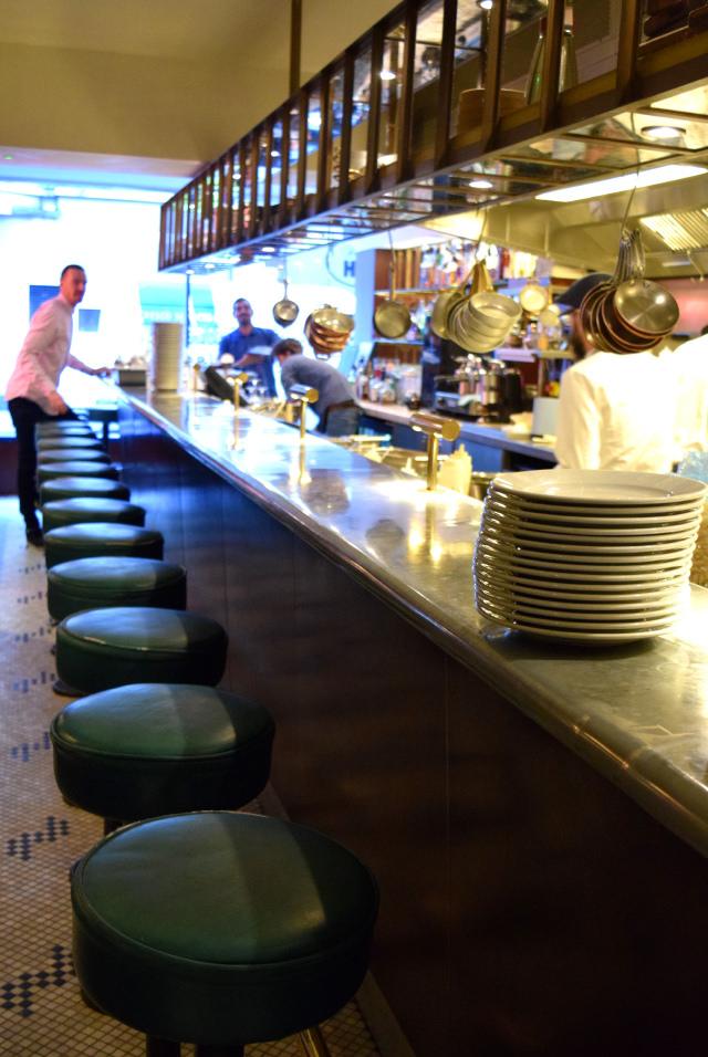 Kitchen Bar at The Palomar, Soho | www.rachelphipps.com @rachelphipps