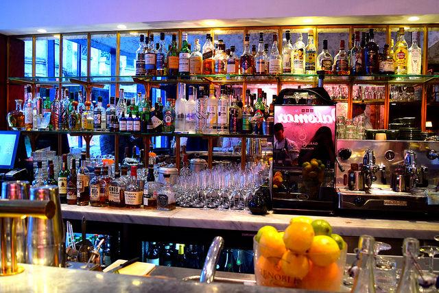 Bar at The Palomar, Soho | www.rachelphipps.com @rachelphipps