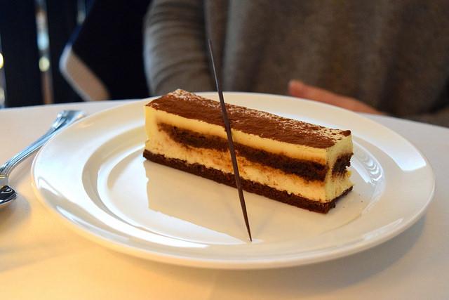 Tiramasu at Cafe Monico, Soho   www.rachelphipps.com @rachelphipps