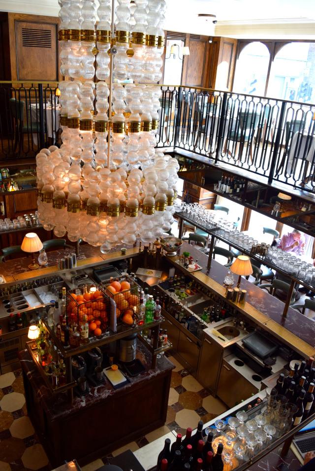 Bar at Cafe Monico, Soho   www.rachelphipps.com @rachelphipps