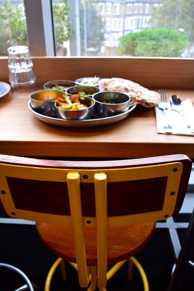 Eating a North Indian Thali at the Jamie Oliver Cookery School | www.rachelphipps.com @rachelphipps