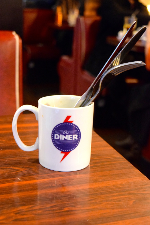 Lunch at The Diner, Soho   www.rachelphipps.com @rachelphipps