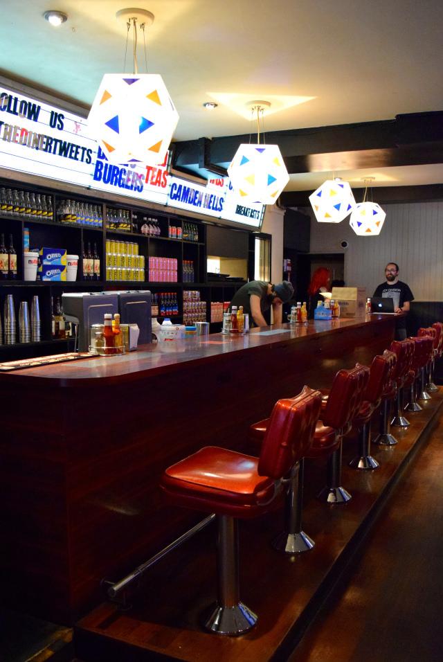 Milkshake Bar at The Diner, Soho   www.rachelphipps.com @rachelphipps