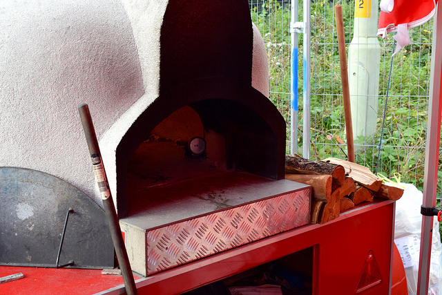 That's Amore Pizza Co.'s Pizza Oven | www.rachelphipps.com @rachelphipps