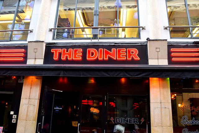 The Diner, Soho   www.rachelphipps.com @rachelphipps