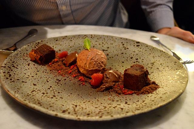 Chocolate Texture at Samarkand, Fitzrovia | www.rachelphipps.com @rachelphipps
