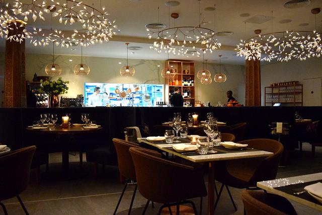 Dining Room at Samarkand, Fitzrovia | www.rachelphipps.com @rachelphipps
