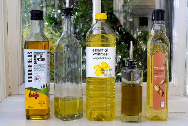 Basic Cooking Oils   www.rachelphipps.com @rachelphipps