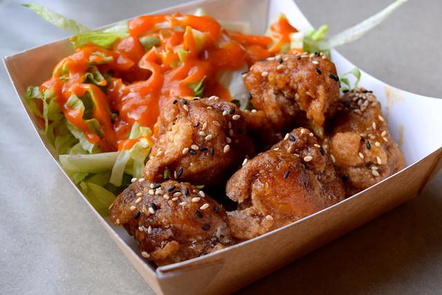 Korean Fried Chicken at Kyoto, Canterbury   www.rachelphipps.com @rachelphipps