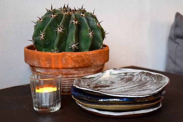 Table Settings at Breddos Tacos, Clerkenwell   www.rachelphipps.com @rachelphipps