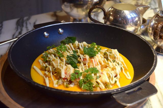 Crab & Lobster Omelette at The Chiltern Firehouse | www.rachelphipps.com @rachelphipps