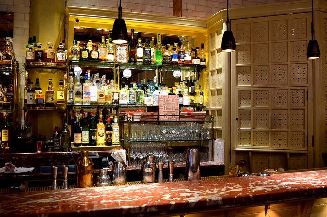 Bar at The Chiltern Firehouse | www.rachelphipps.com @rachelphipps