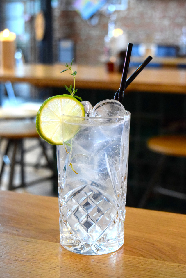 Gin Thyme Cider Cocktail at The Stable, Whitechapel | www.rachelphipps.com @rachelphipps