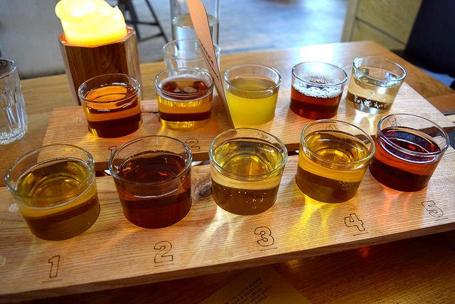 Cider Flights at The Stable, Whitechapel | www.rachelphipps.com @rachelphipps