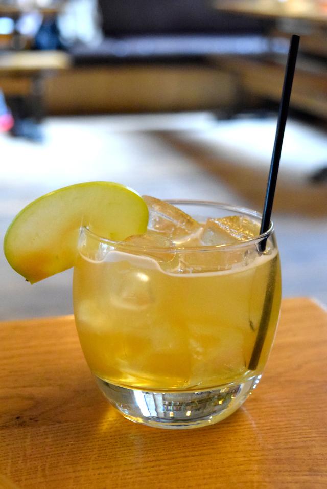 The Big Apple Cider Cocktail at The Stable, Whitechapel | www.rachelphipps.com @rachelphipps