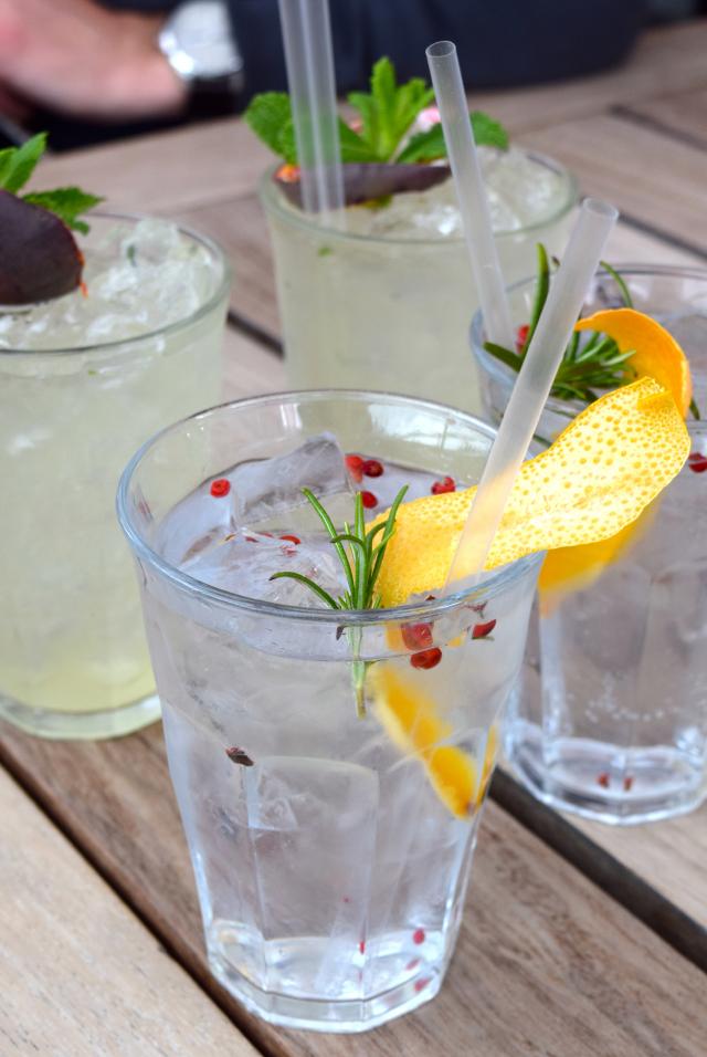 Gin & Tonic Cups at The Boundary Rooftop, Shoreditch | www.rachelphipps.com @rachelphipps