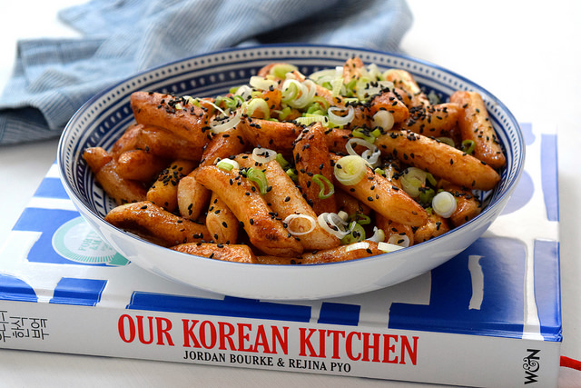 Soy Rice Cakes from Our Korean Kitchen   www.rachelphipps.com @rachelphipps