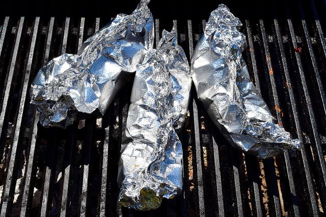 Roasting Nectarines on the Barbecue   www.rachelphipps.com @rachelphipps