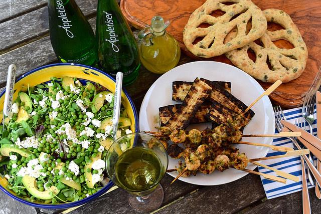 Summer Barbecue with Appletiser | www.rachelphipps.com @rachelphipps