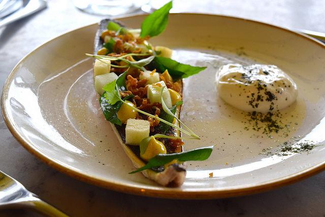 Mackerel at Duck & Waffle   www.rachelphipps.com @rachelphipps