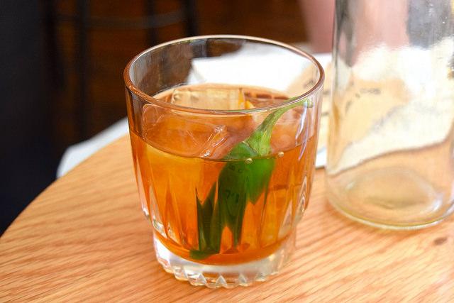 Smoked Whisky Cocktail at Bo Drake, Soho | www.rachelphipps.com @rachelphipps