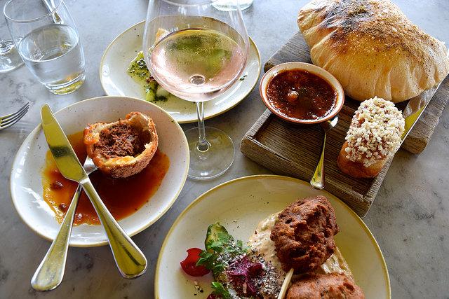 Lunch at Duck & Waffle   www.rachelphipps.com @rachelphipps
