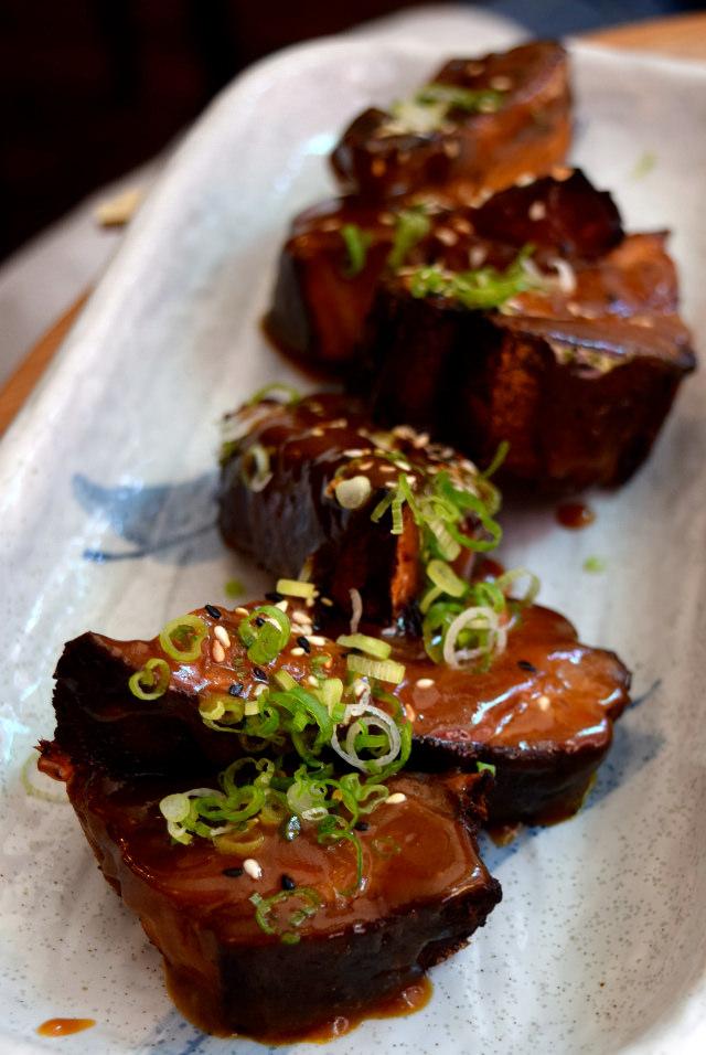 Pork Belly Ribs at Bo Drake, Soho | www.rachelphipps.com @rachelphipps