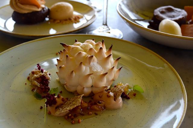 Baked Alaska at Duck & Waffle   www.rachelphipps.com @rachelphipps