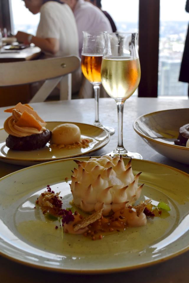 Dessert Wine Pairings at Duck & Waffle   www.rachelphipps.com @rachelphipps