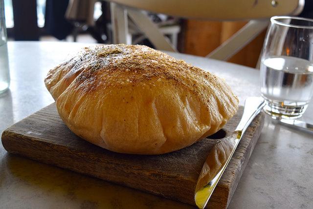 House Spiced Bread at Duck and Waffle   www.rachelphipps.com @rachelphipps