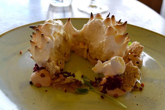 Baked Alaska at Duck and Waffle   www.rachelphipps.com @rachelphipps