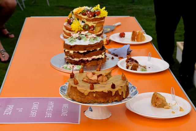 Cake Off  at We Love Hythe Food Festival   www.rachelphipps.com @rachelphipps