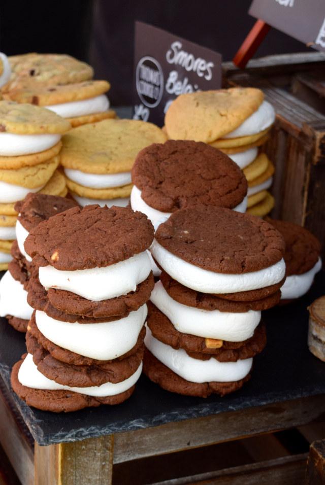 S'mores Cookies at We Love Hythe Food Festival   www.rachelphipps.com @rachelphipps