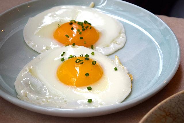Fried Eggs at Rail House Cafe, Victoria | www.rachelphipps.com @rachelphipps