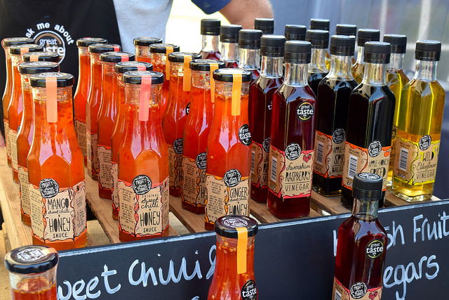 Sauces from Mighty Fine Things at We Love Hythe Food Festival   www.rachelphipps.com @rachelphipps
