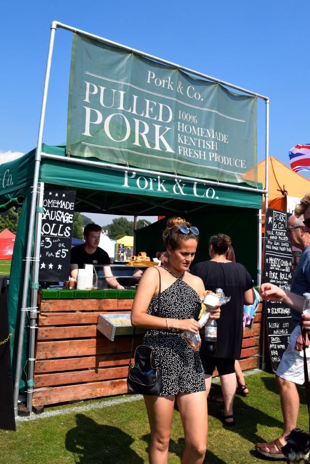 Pork & Co. Pulled Pork at We Love Hythe Food Festival   www.rachelphipps.com @rachelphipps