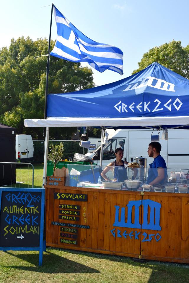 Greek 2 Go at We Love Hythe Food Festival   www.rachelphipps.com @rachelphipps