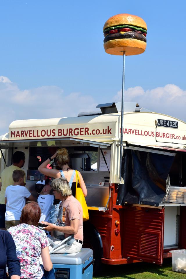 Burger Van at Love Hythe Food Festival   www.rachelphipps.com @rachelphipps