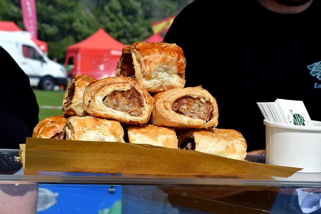 Pork & Co. Sausage Rolls at We Love Hythe Food Festival   www.rachelphipps.com @rachelphipps