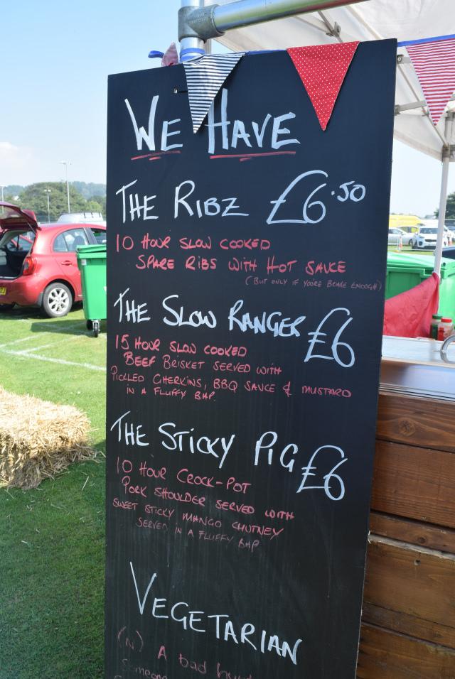 Just Ribz Menu at Love Hythe Food Festival   www.rachelphipps.com @rachelphipps